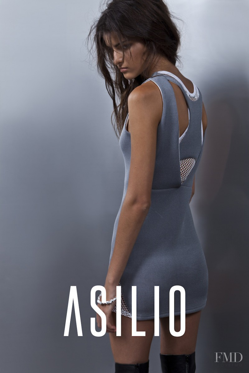 Astrid Holler featured in  the Asilio advertisement for Autumn/Winter 2014