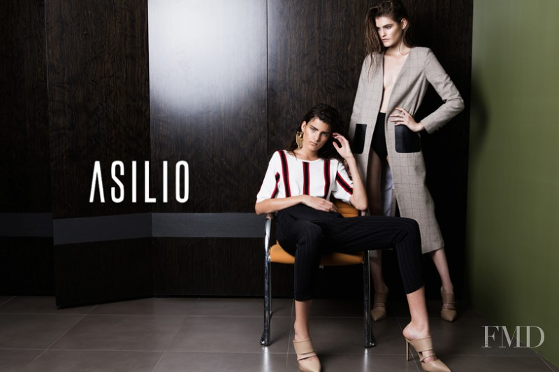 Astrid Holler featured in  the Asilio advertisement for Spring/Summer 2015