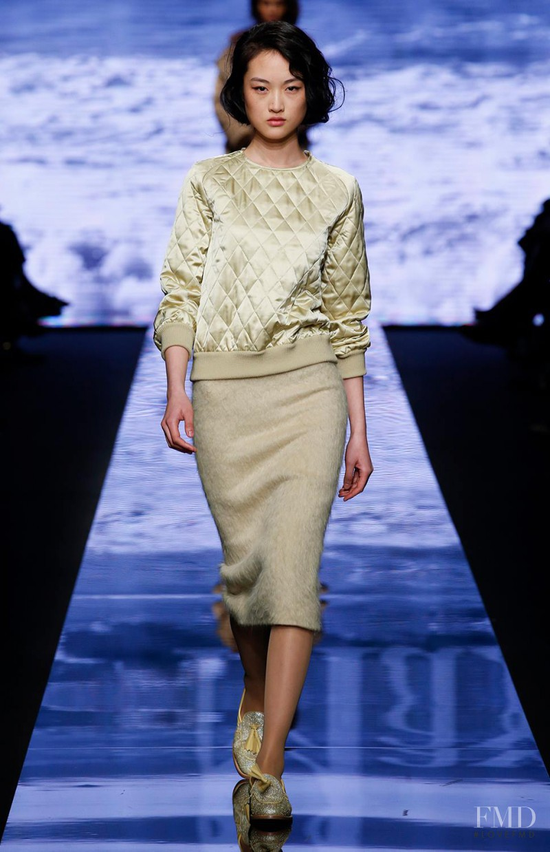 Max Mara fashion show for Autumn/Winter 2015