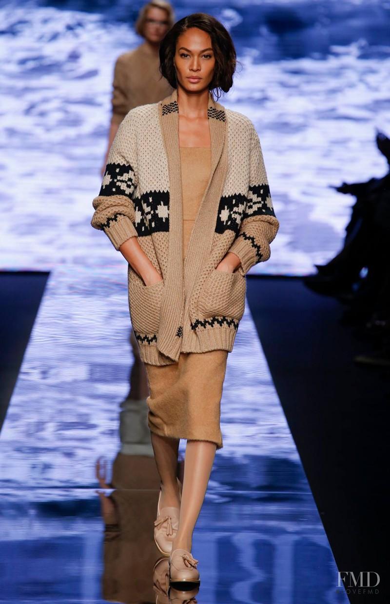 Joan Smalls featured in  the Max Mara fashion show for Autumn/Winter 2015