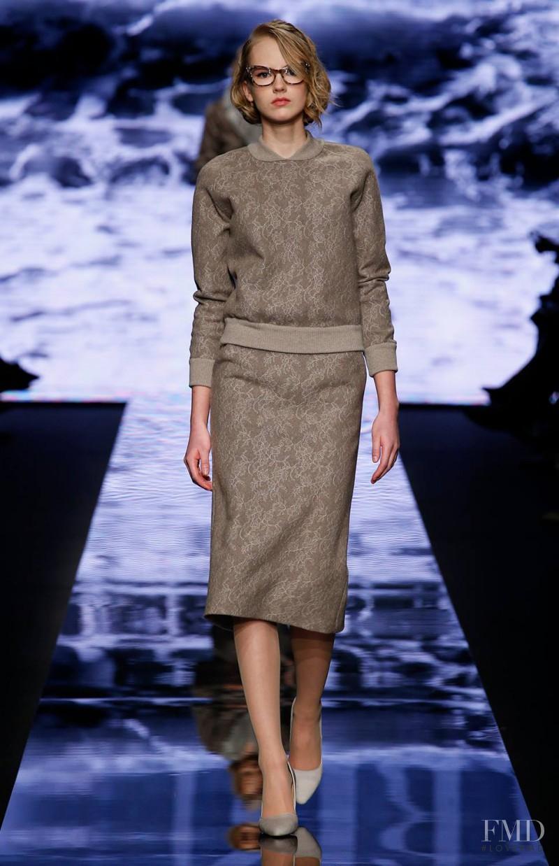 Paula Galecka featured in  the Max Mara fashion show for Autumn/Winter 2015