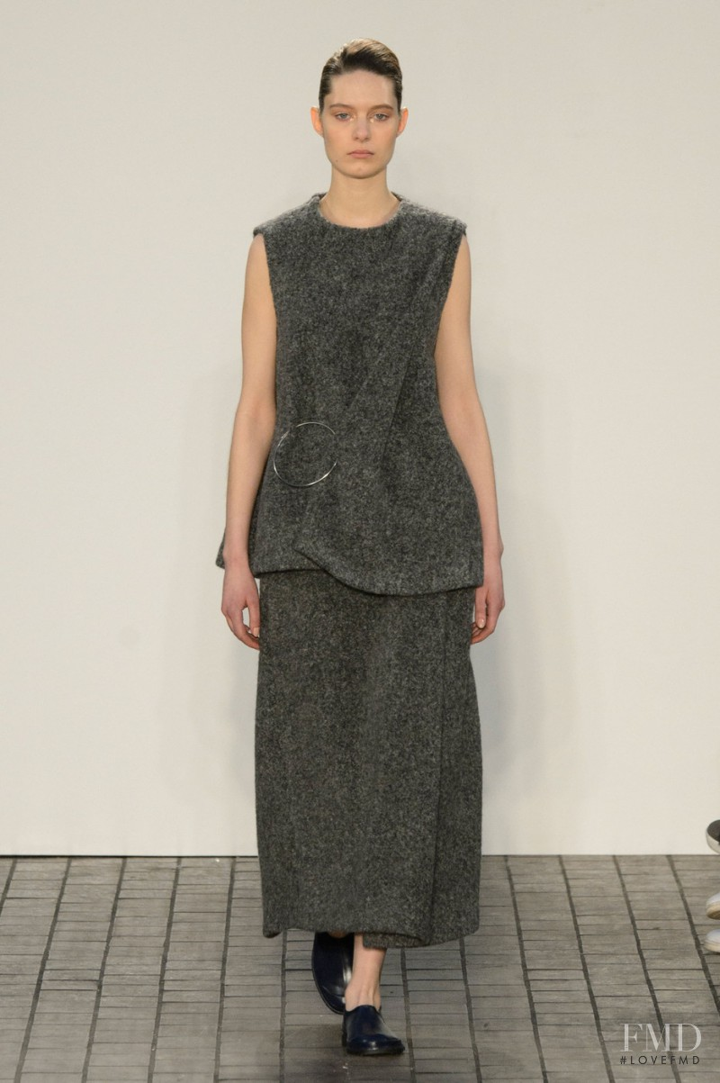 Anika Cholewa featured in  the 1205 fashion show for Autumn/Winter 2015