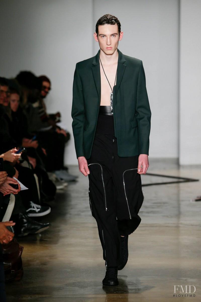 Tim Coppens fashion show for Autumn/Winter 2015