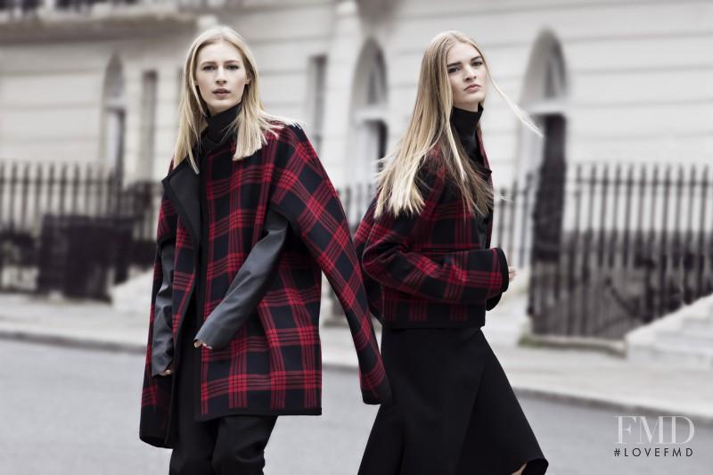 Julia Nobis featured in  the Zara advertisement for Autumn/Winter 2013
