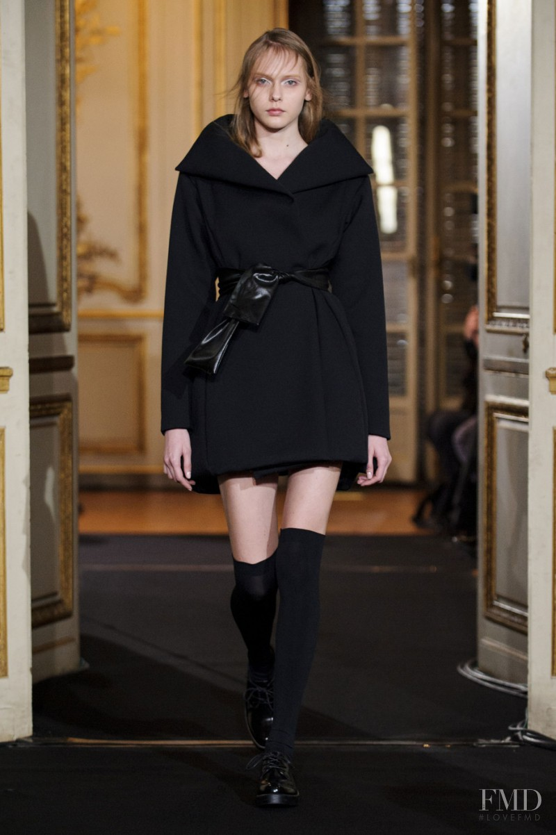 Arina Levchenko featured in  the Moon Young Hee fashion show for Autumn/Winter 2015