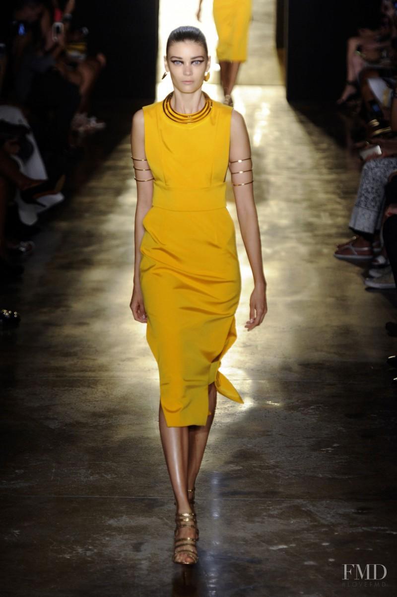 Cushnie Et Ochs fashion show for Spring/Summer 2015