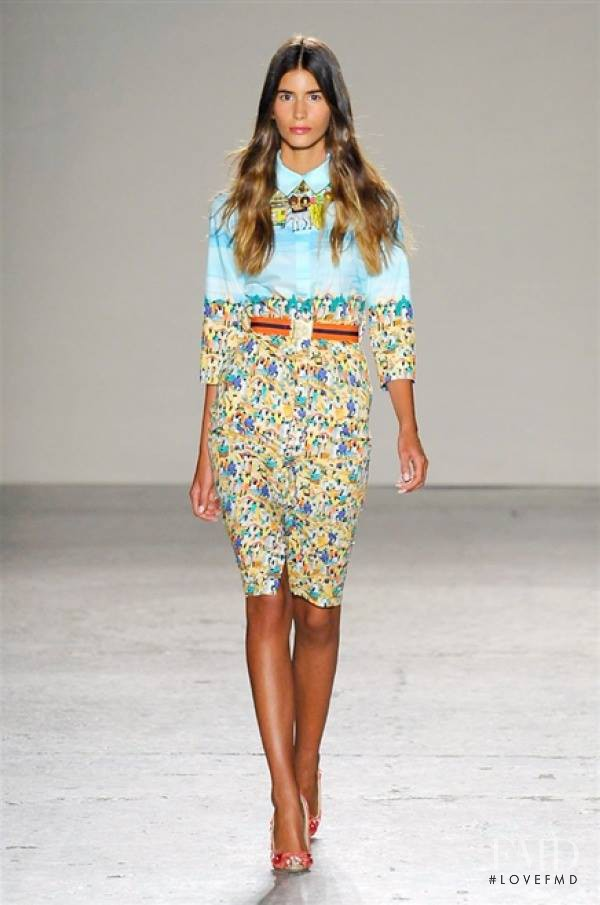 Stella Jean fashion show for Spring/Summer 2015
