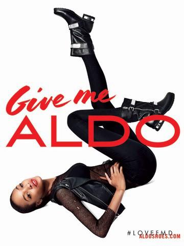 Jourdan Dunn featured in  the Aldo advertisement for Autumn/Winter 2013