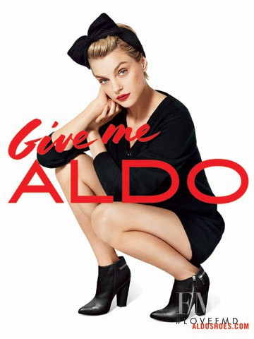 Jessica Stam featured in  the Aldo advertisement for Autumn/Winter 2013