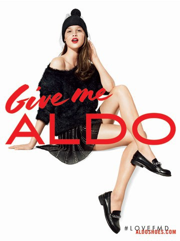 Anais Pouliot featured in  the Aldo advertisement for Autumn/Winter 2013