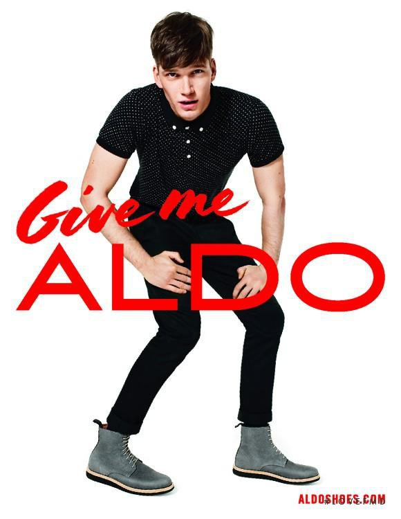 Aldo advertisement for Autumn/Winter 2013
