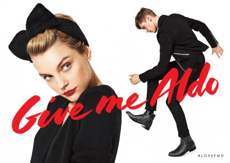 Jessica Stam featured in  the Aldo advertisement for Autumn/Winter 2013