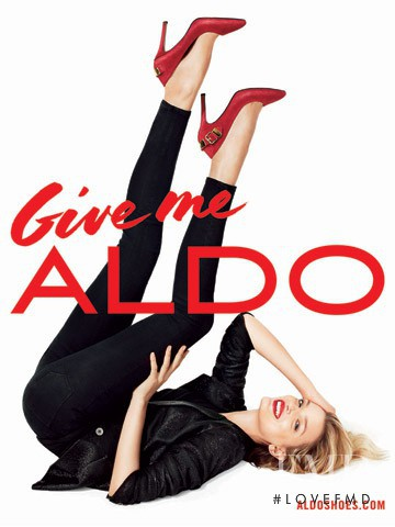 Lily Donaldson featured in  the Aldo advertisement for Autumn/Winter 2013