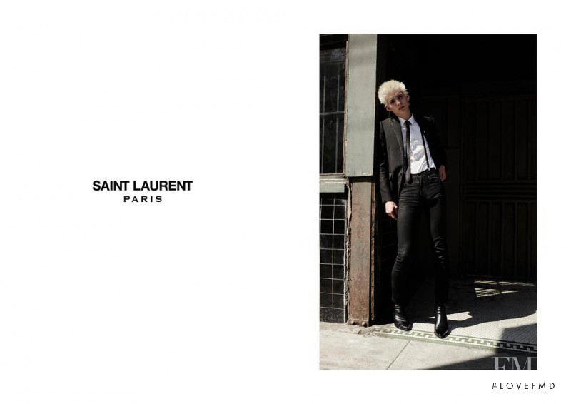 Saint Laurent advertisement for Autumn/Winter 2015