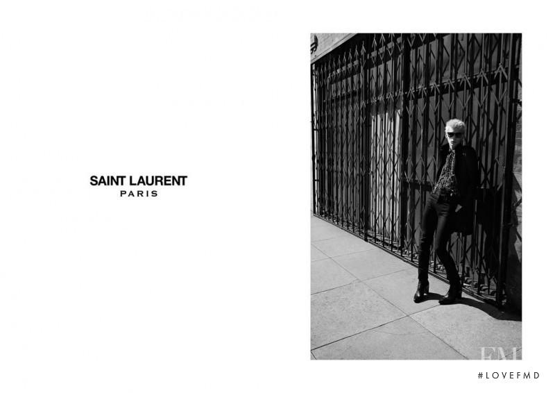 Saint Laurent advertisement for Autumn/Winter 2015