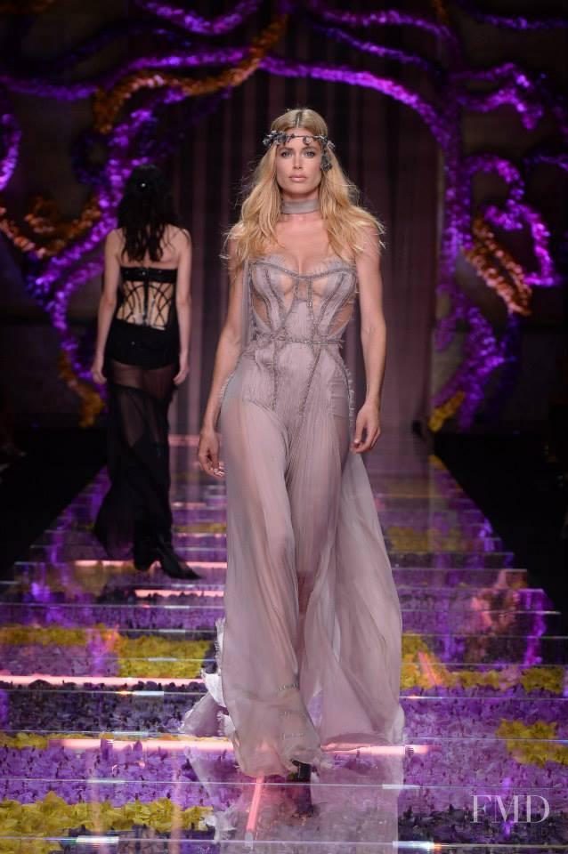 Doutzen Kroes featured in  the Atelier Versace fashion show for Autumn/Winter 2015