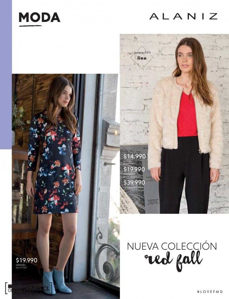 Iulia Carstea featured in  the paris (RETAILER) catalogue for Autumn/Winter 2014