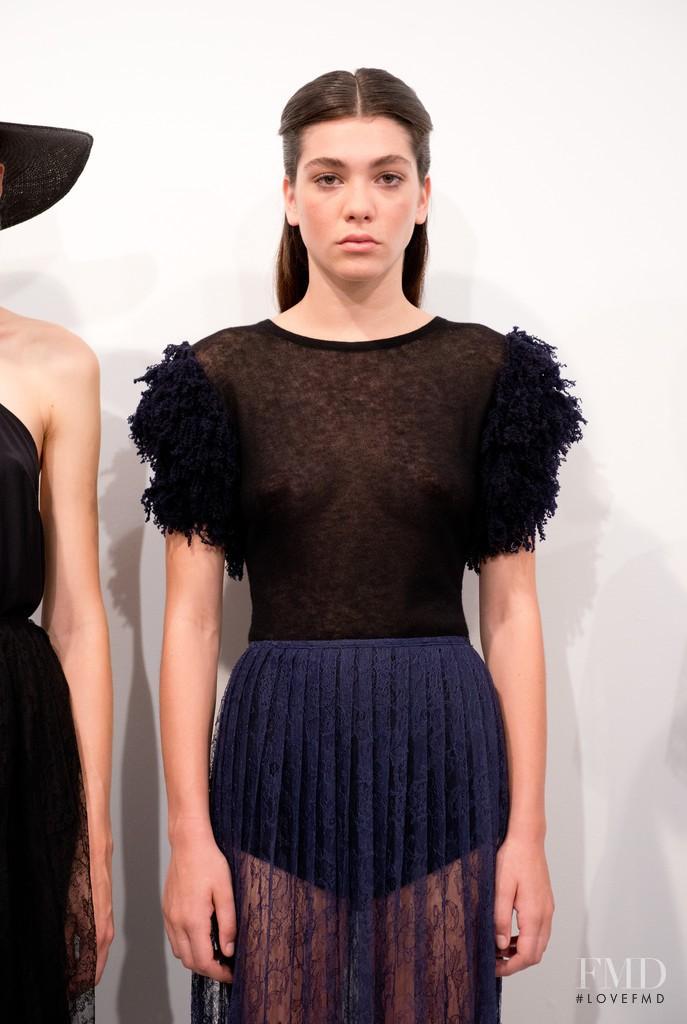 Steffy Argelich featured in  the Ryan Roche fashion show for Spring/Summer 2015