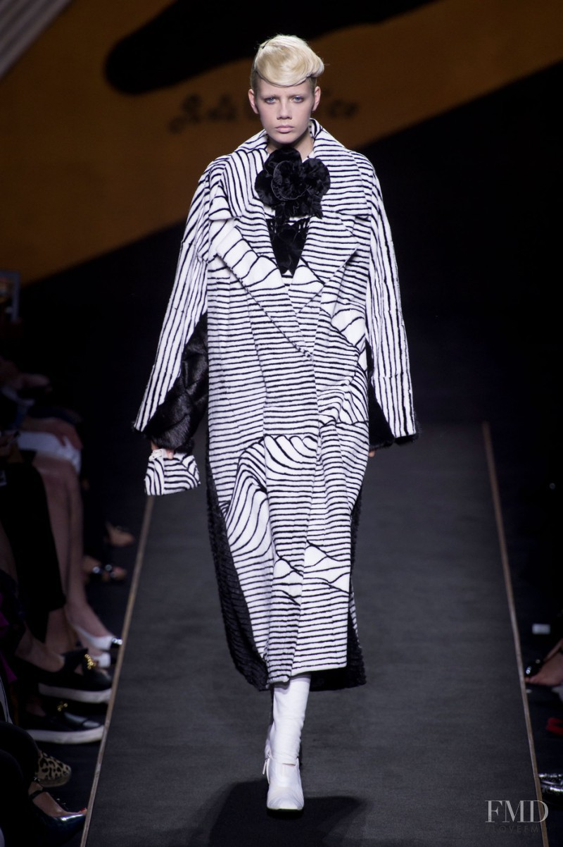 Marjan Jonkman featured in  the Fendi Couture fashion show for Autumn/Winter 2015