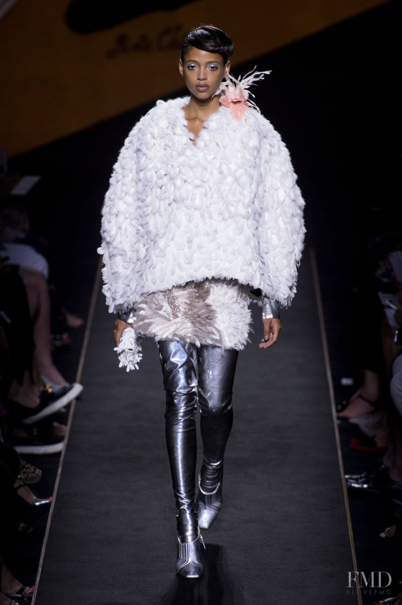 Aya Jones featured in  the Fendi Couture fashion show for Autumn/Winter 2015
