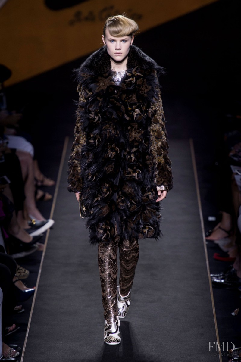 Elisabeth Faber featured in  the Fendi Couture fashion show for Autumn/Winter 2015