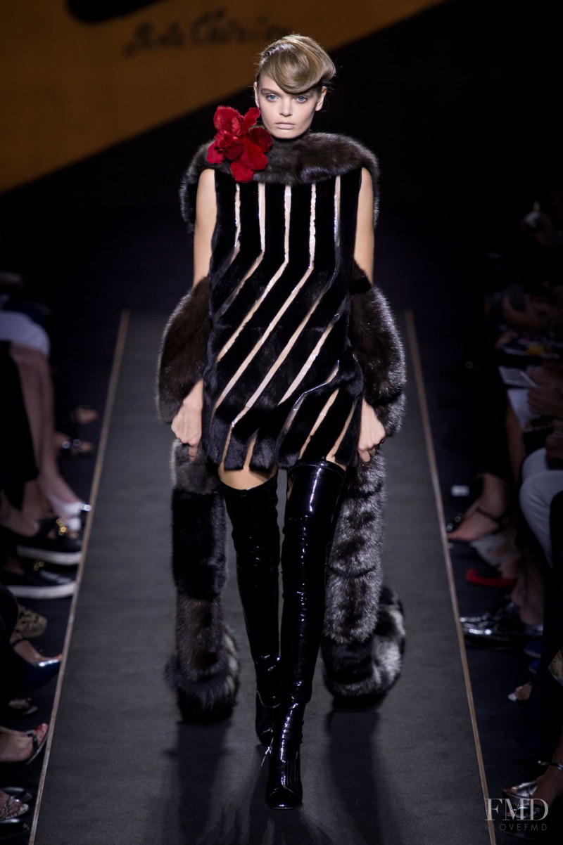 Marthe Wiggers featured in  the Fendi Couture fashion show for Autumn/Winter 2015