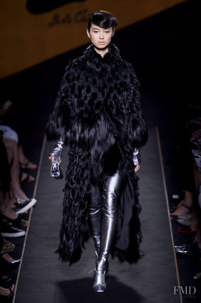 Estelle Chen featured in  the Fendi Couture fashion show for Autumn/Winter 2015