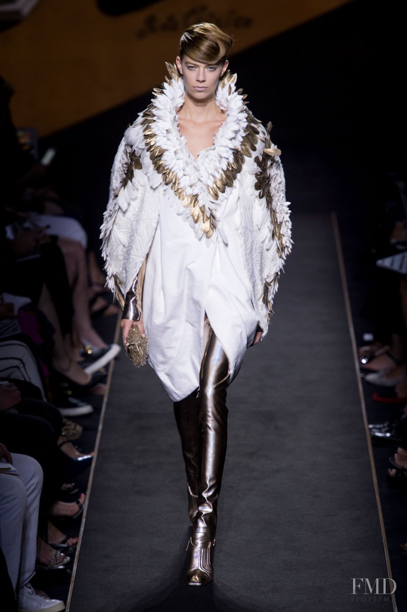 Lexi Boling featured in  the Fendi Couture fashion show for Autumn/Winter 2015