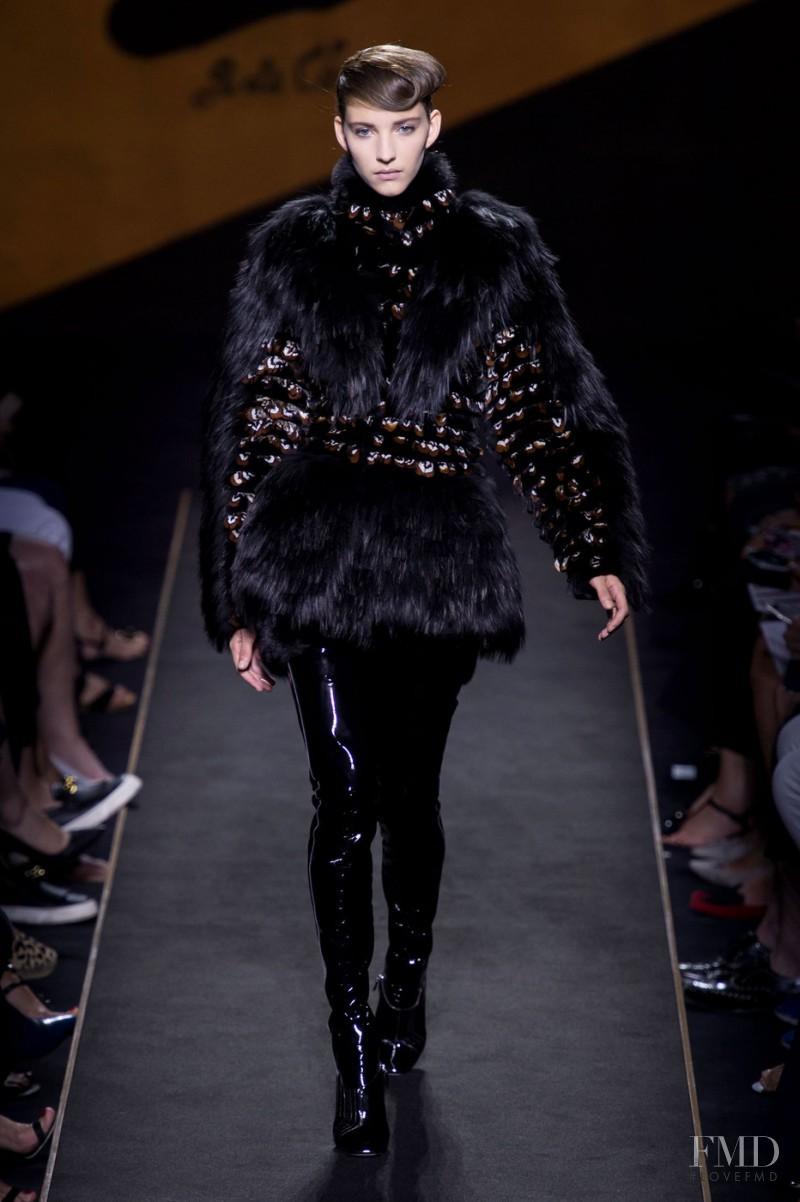 Clémentine Deraedt featured in  the Fendi Couture fashion show for Autumn/Winter 2015