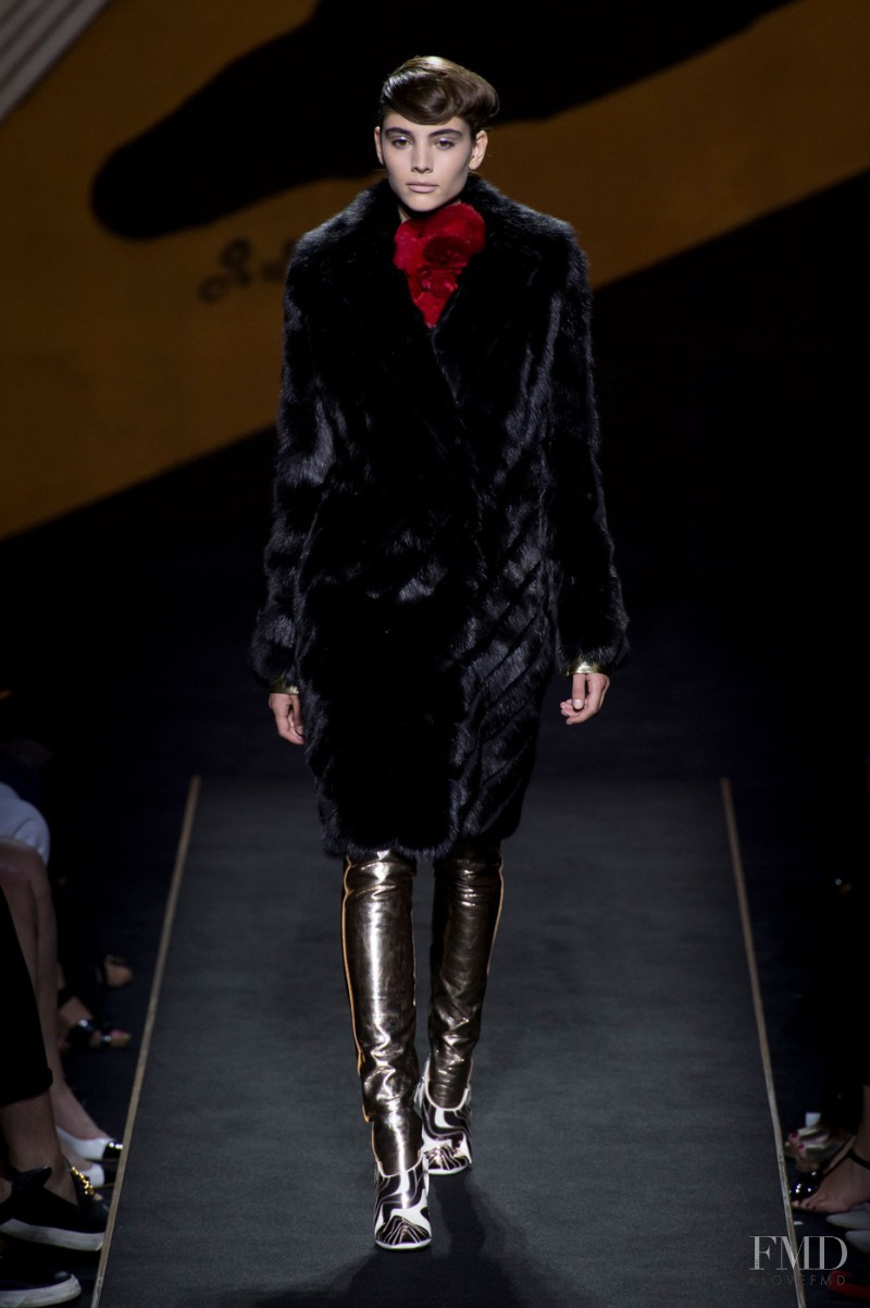 Romy Schönberger featured in  the Fendi Couture fashion show for Autumn/Winter 2015