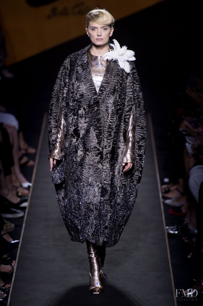 Lily Donaldson featured in  the Fendi Couture fashion show for Autumn/Winter 2015