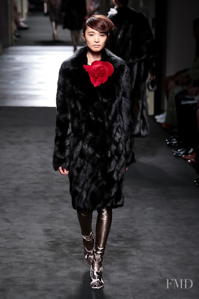 Yuka Mannami featured in  the Fendi Couture fashion show for Autumn/Winter 2015
