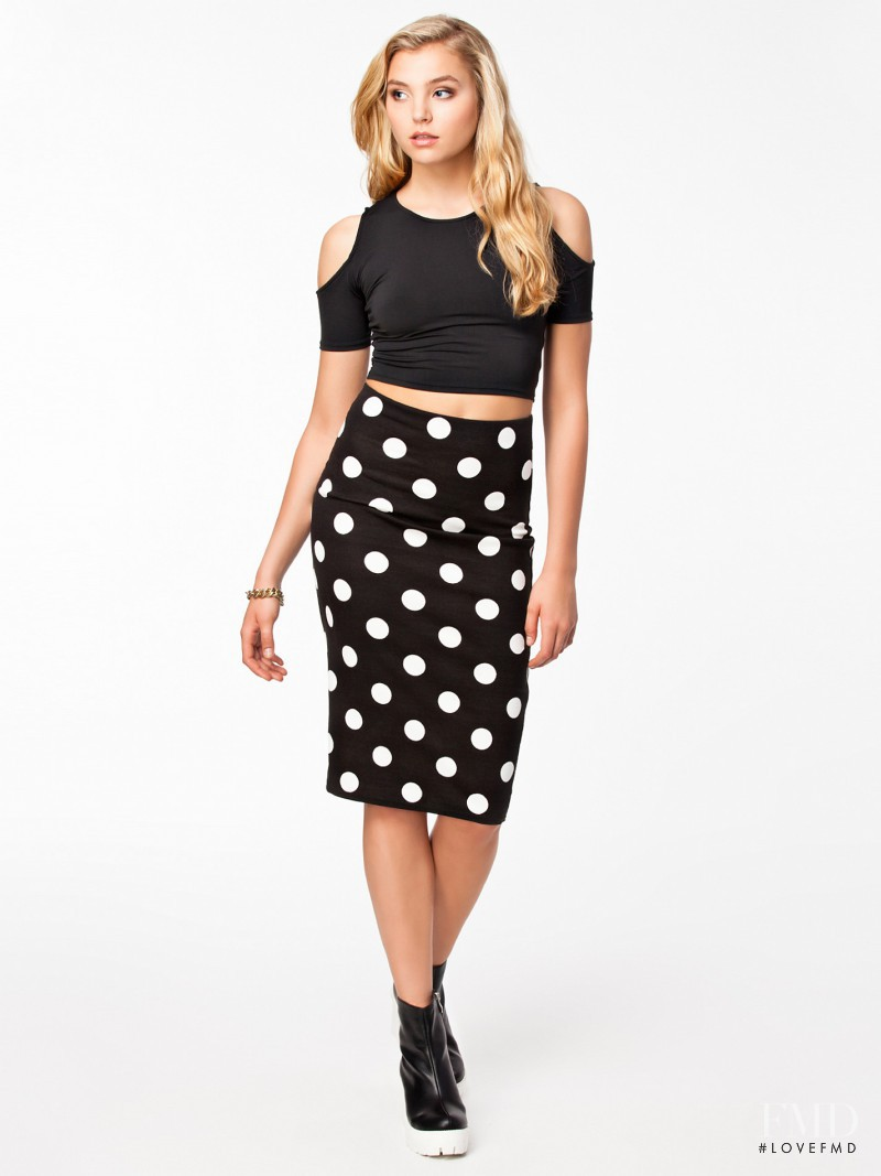 Rachel Hilbert featured in  the nelly.com catalogue for Spring/Summer 2014