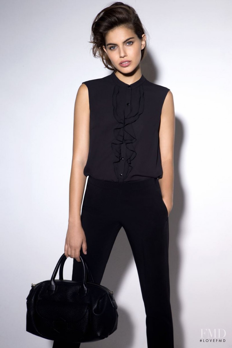 Shlomit Malka featured in  the Golbary lookbook for Spring/Summer 2015
