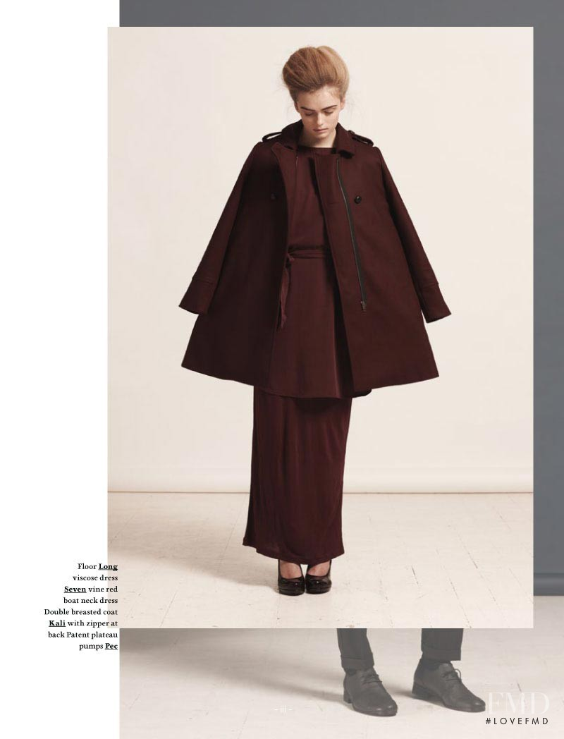Anne Katrine Sibbersen featured in  the Won Hundred (RETAILER) Falling Apart lookbook for Autumn/Winter 2011