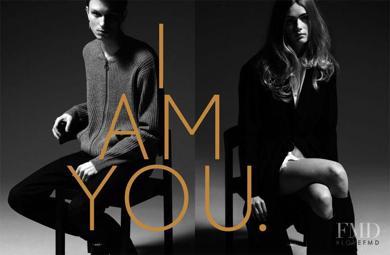 Anne Katrine Sibbersen featured in  the Won Hundred (RETAILER) I Am You lookbook for Autumn/Winter 2011