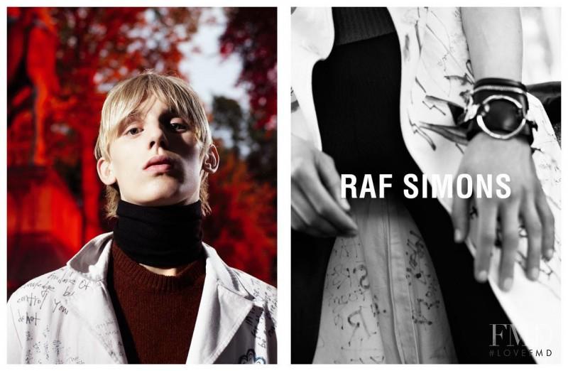 Raf Simons advertisement for Autumn/Winter 2015