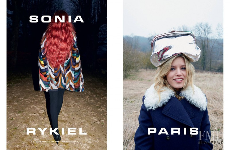 Georgia May Jagger featured in  the Sonia Rykiel advertisement for Autumn/Winter 2015