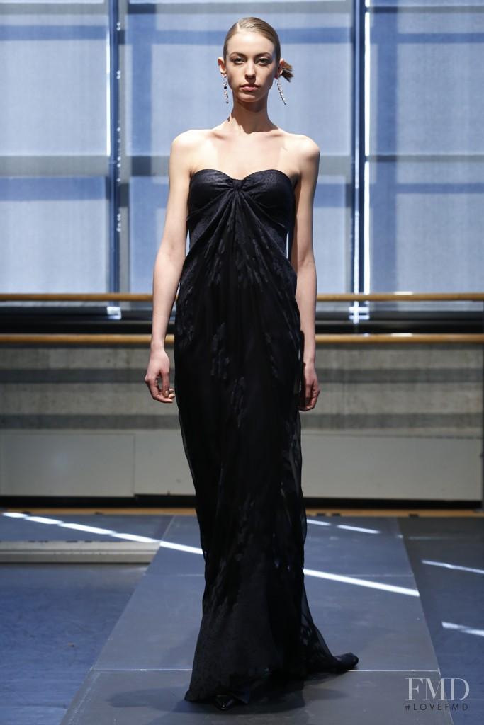 Iryna Lysogor featured in  the Rivini by Rita Vinieris fashion show for Autumn/Winter 2013