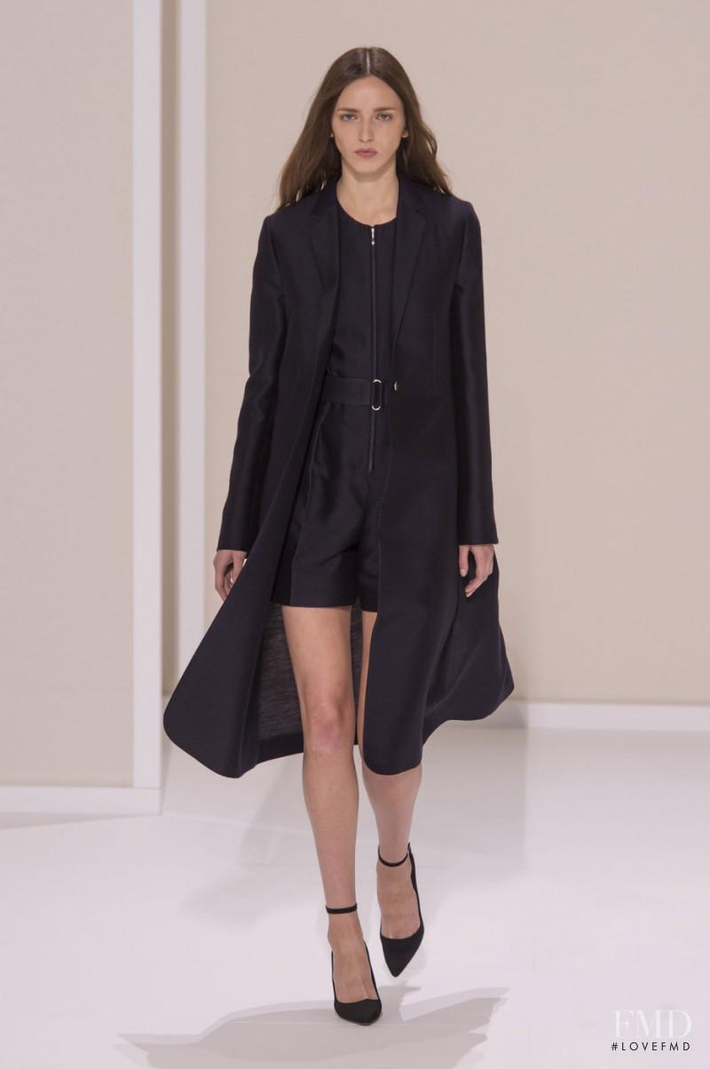 Sasha Antonowskaia featured in  the Hermes fashion show for Spring/Summer 2016
