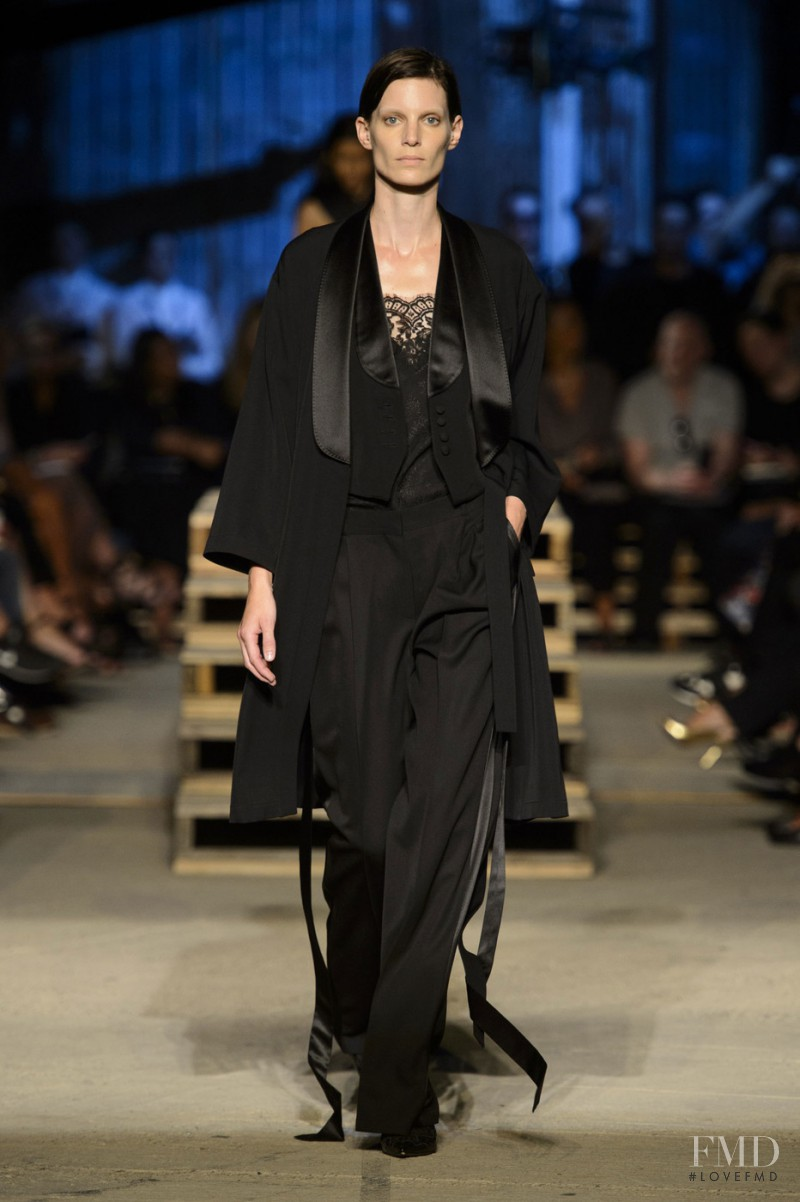 Iris Strubegger featured in  the Givenchy fashion show for Spring/Summer 2016