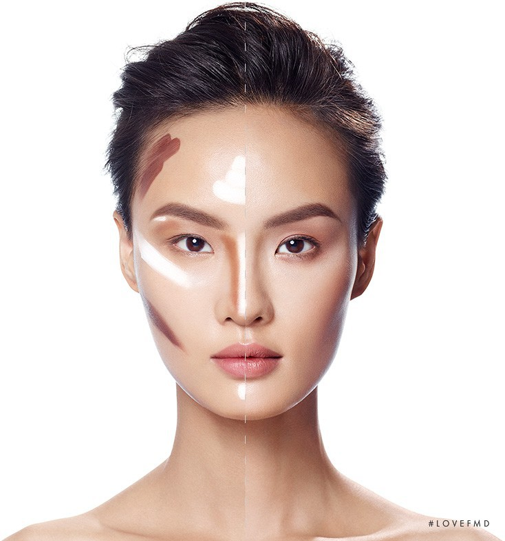 Gia Tang featured in  the SEPHORA Contouring advertisement for Spring/Summer 2015