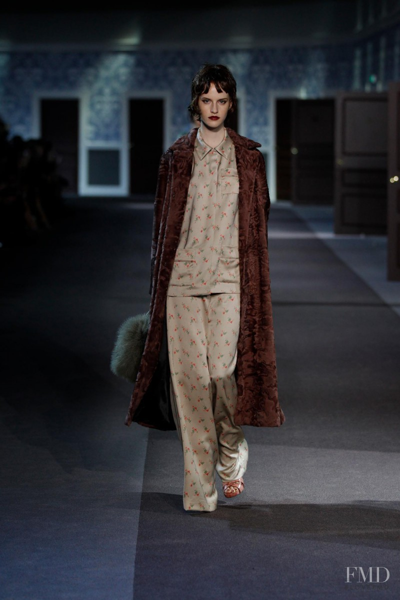 Magdalena Jasek featured in  the Louis Vuitton fashion show for Autumn/Winter 2013