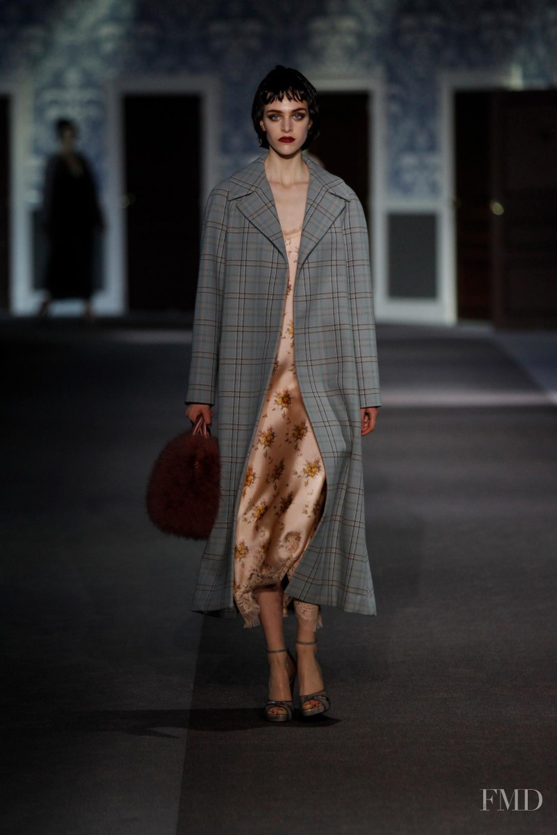Hedvig Palm featured in  the Louis Vuitton fashion show for Autumn/Winter 2013