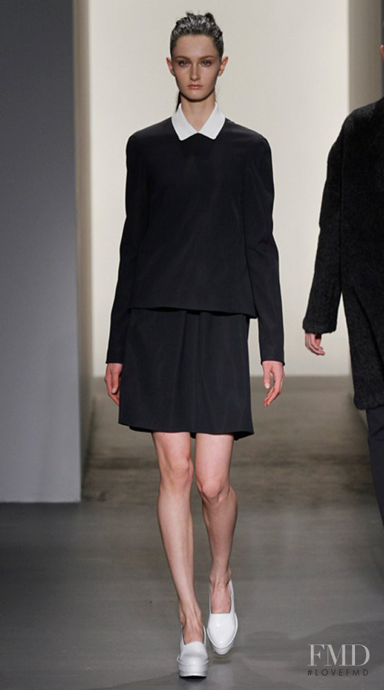 Mackenzie Drazan featured in  the Calvin Klein 205W39NYC fashion show for Autumn/Winter 2011