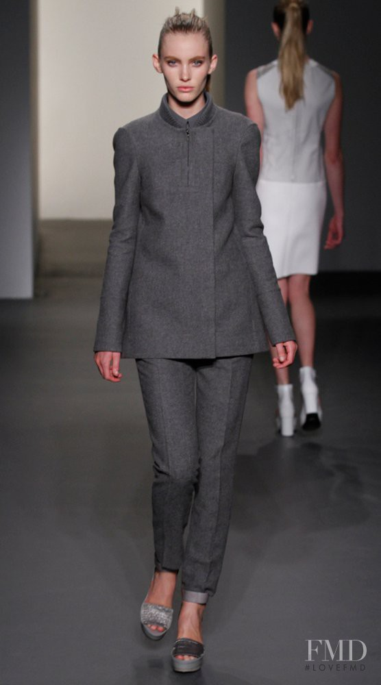 Emily Baker featured in  the Calvin Klein 205W39NYC fashion show for Autumn/Winter 2011