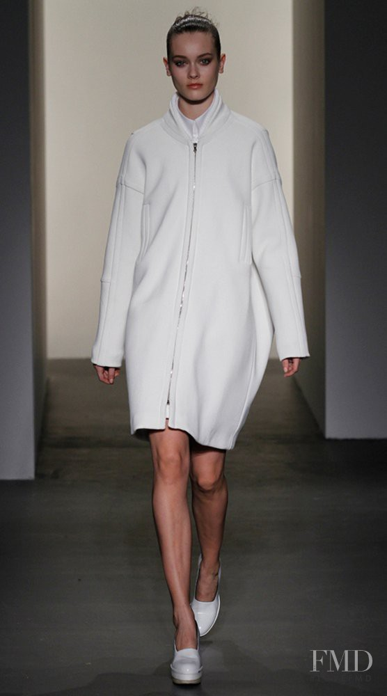 Monika Jagaciak featured in  the Calvin Klein 205W39NYC fashion show for Autumn/Winter 2011