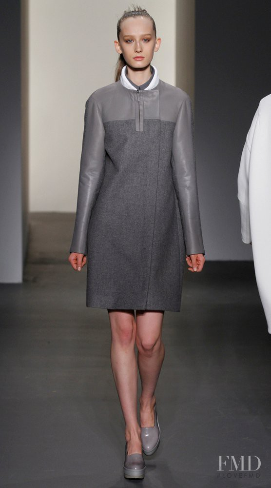 Kasia Wrobel featured in  the Calvin Klein 205W39NYC fashion show for Autumn/Winter 2011