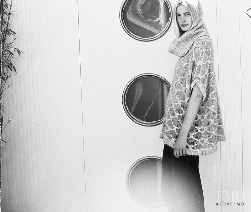 Felicity Peel featured in  the Sita Murt advertisement for Autumn/Winter 2015