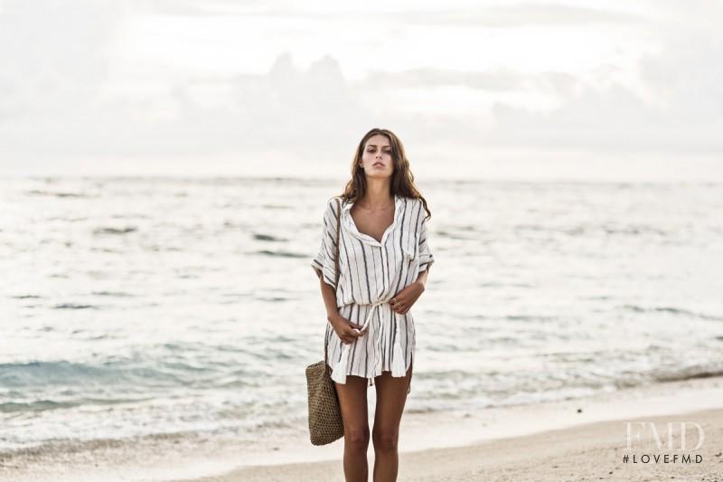 George Gigi Midgley featured in  the Faithfull The Brand Sun. Sea. Salt. catalogue for Summer 2015